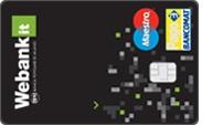 esempio carta di debito webank