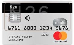 carta n26 mastercard