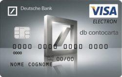 carta prepagata dbcontocarta visa electron