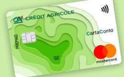 esempio carta conto credit agricole