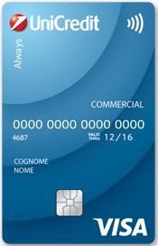 carta di debito always unicredit