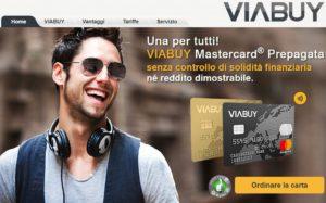 home page sito viabuy