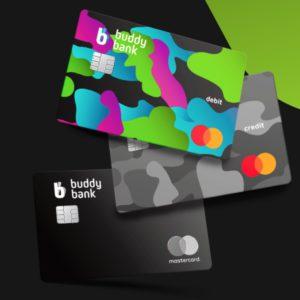 immagine tre carte buddybank