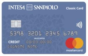 esempio carta di credito classic intesa sanpaolo