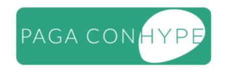 simbolo paga con hype wallet presente sui siti convenzionati