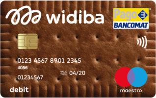 carta di debito widiba