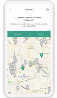 trovare supermercati cash26 da app