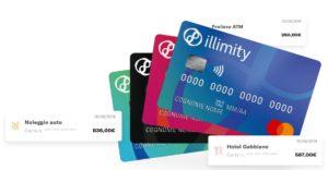 esempio carta di credito illimitybank