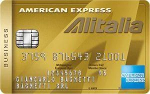 carta di credito american express oro alitalia