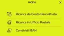 esempio di come si riceve denaro con app poste italiane