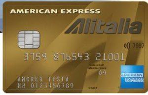 carta amex alitalia oro
