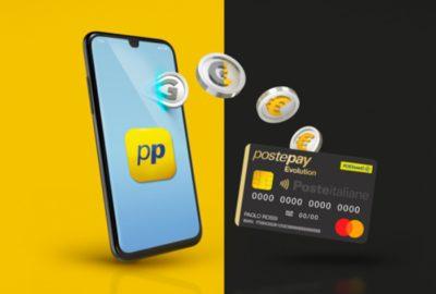 app postepay connect con sim collegata
