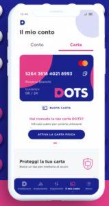 esempio di app dots