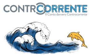 immagine di onde e un delfino che indica il logo di conto Ibl