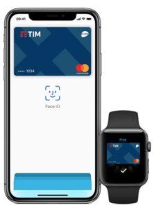 interfaccia di yimpay con apple pay e apple watch